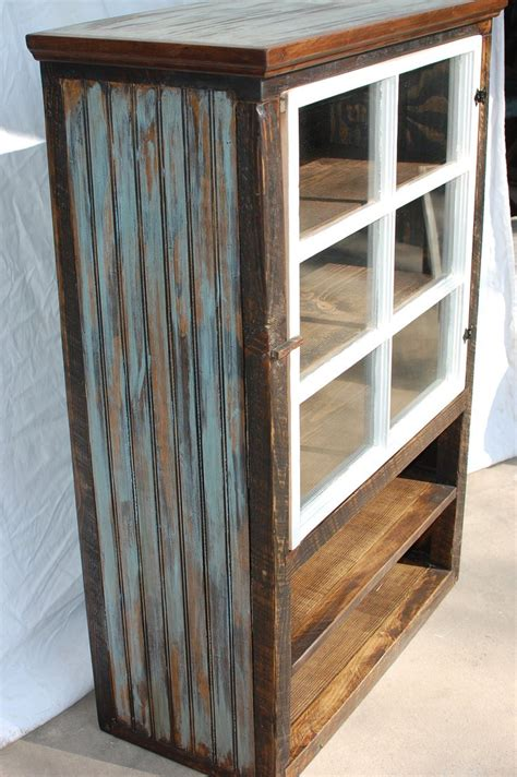 Barnwood Cabinets by The Reclaimed Barnwood Farmhouse Cabinet With A