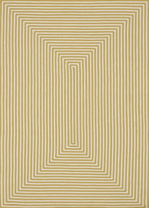 Outdoor Rugs 8x10 8x10 Loloi Rug Indoor Outdoor In Out Yellow Braided Polypropylene Ebay