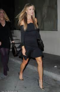 joanna krupa shows toned legs in glam lbd daily