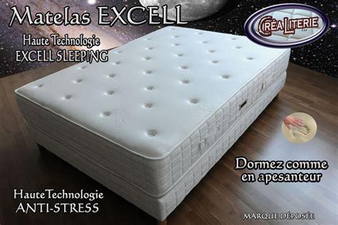 matelas anti stress matelas excell ferme 224 m 233 moire de forme technologie anti stress rubrique matelas haute