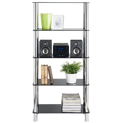 black glass bookshelves glass based bookshelves