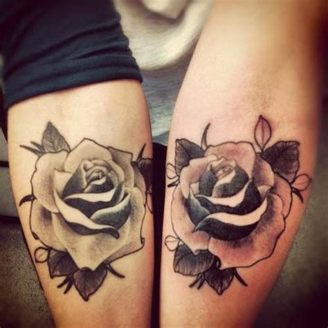 pretty rose tattoo designs 60 cool matching tattoos
