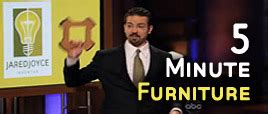 5 minute furniture jared joyce after show videos shark tank blog