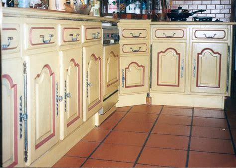 repeindre des meubles de cuisine rustique cuisine