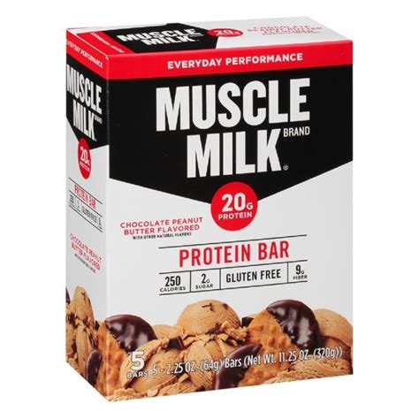 Top 5 Protein Bars by Milk Protein Bar Chocolate Peanut Butter 5ct
