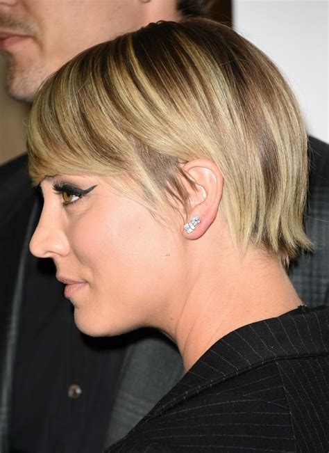 kaley cuoco haircut 2014 kaley cuoco debuts short pixie hairstyle do you approve