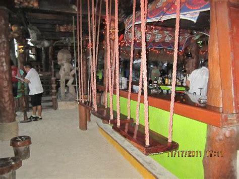 swing restaurant swings for bar stools fun picture of la buena vida