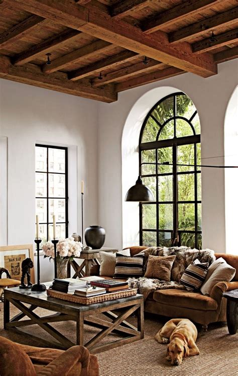 salones rusticos  ideas perfectas  casas de campo