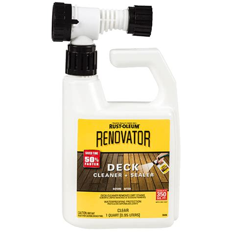 rust oleum renovator deck cleaner sealer