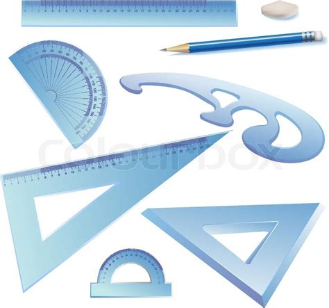 online architecture drawing tool set of architectural drawing tools isolated on white