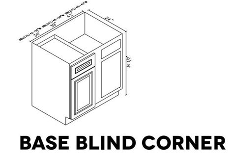 blind corner cabinet dimensions what are the base blind corner cabinet sizes of