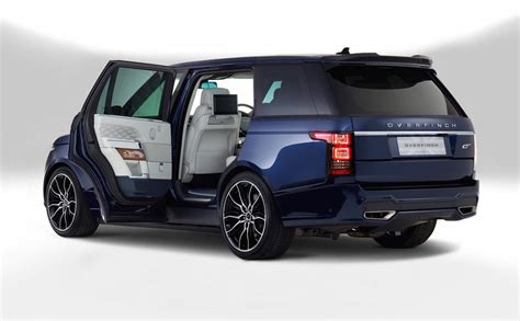 land rover london overfinch unveils manhattan london bespoke range rovers