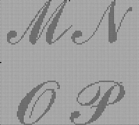Letter Pattern plastic canvas letter patterns related keywords plastic
