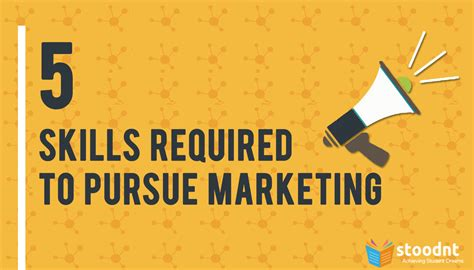 Requirements To Pursue An Mba by 5 Skills Required To Pursue Marketing