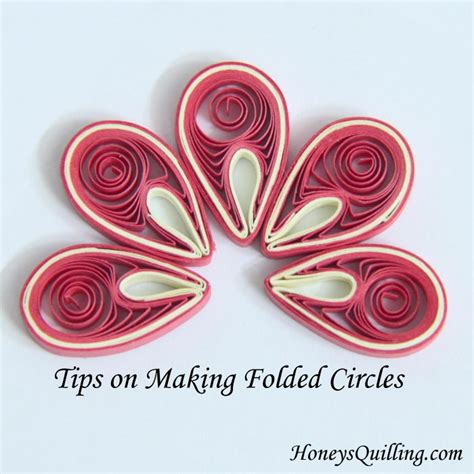 Paper Quilling How To Make Flowers - tips on paper quilled folded circles for malaysian