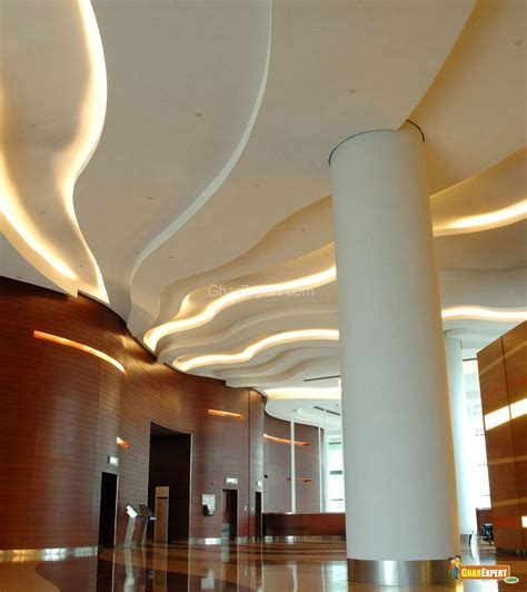 ceiling design in business bui gharexpert