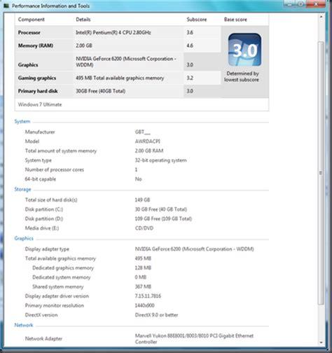 test windows 7 windows 7 the hardware test canitpro