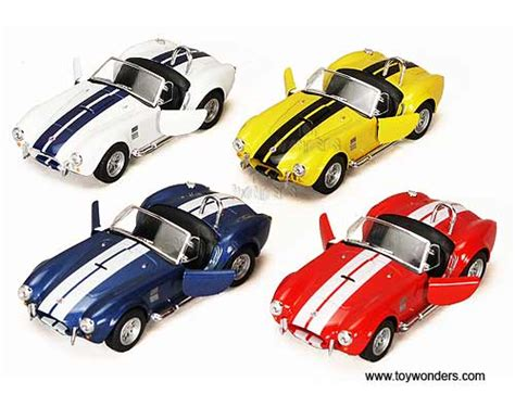news diecast toys die cast model cars collectible kinsmart diecast model shelby cobra 427 s c convertible