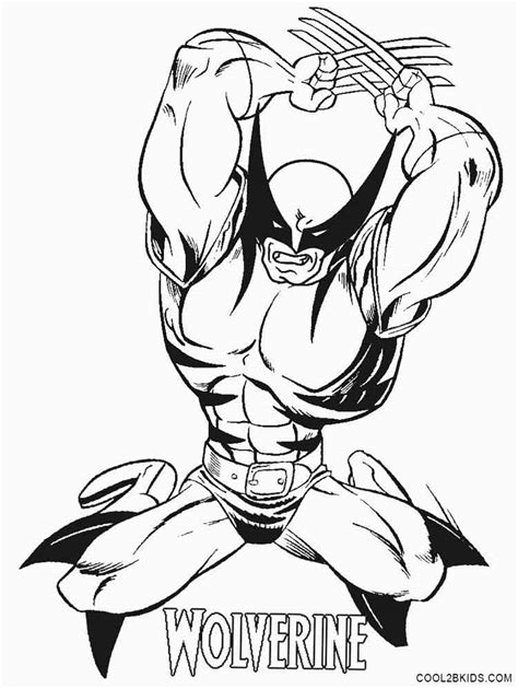 wolverine coloring pages for free wolverine vs deadpool coloring pages coloring pages
