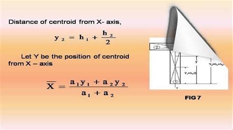 centroid of at section explain centroid of complex shapes centroid of t