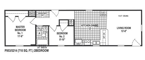 14x60 mobile home floor plans 14x60 manufactured home floor plans pre manufactured home