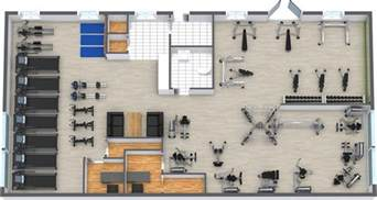 Fitness Floor Plan Gym Floor Plan Roomsketcher
