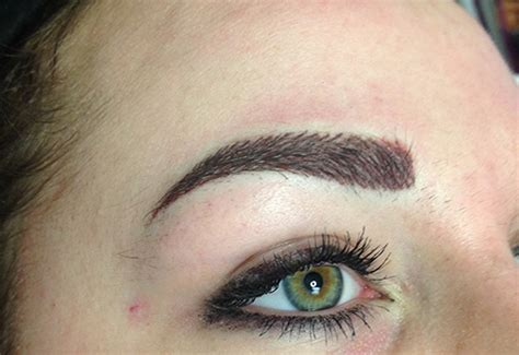 tattoo eyebrows manchester combination brows combination eyebrows permanent