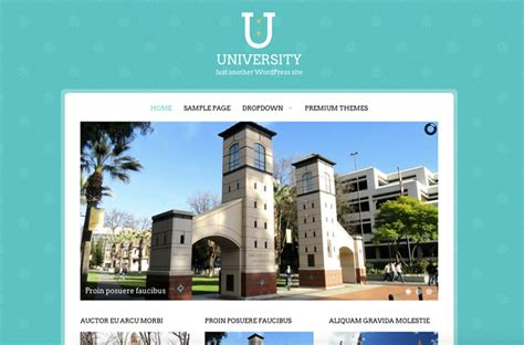 wordpress themes free university university free wordpress theme viva themes