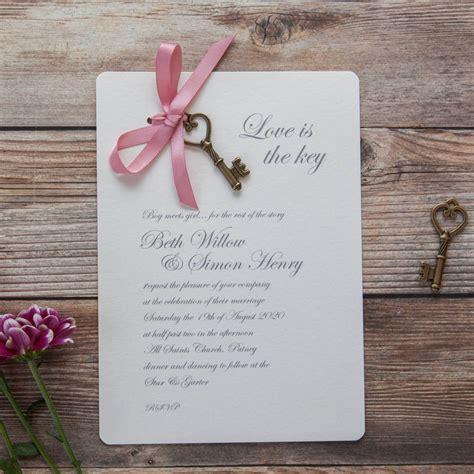 Wedding Invitation Packs by Is The Key Diy Wedding Invitation Pack By Wedding