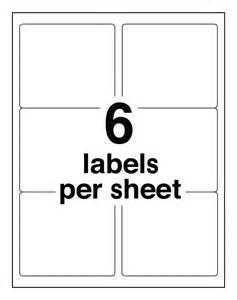 Avery 8164 Template by Avery Easy Peel Clear Shipping Labels For Inkjet Printers