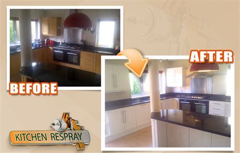 how much does it cost to respray kitchen cabinets respray your kitchen in dublin all surface respray