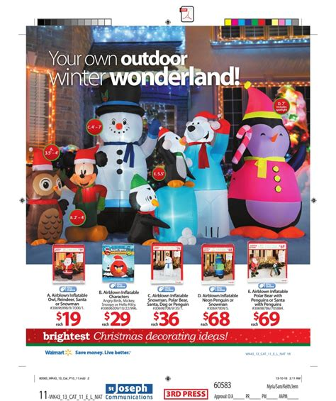 walmart christmas outdoor decorations photograph walma