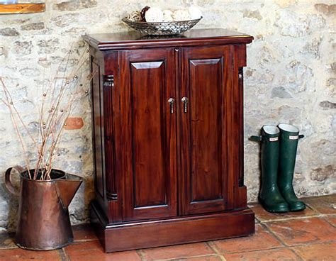fully assembled shoe cabinet store mahogany shoe storage cabinet la roque