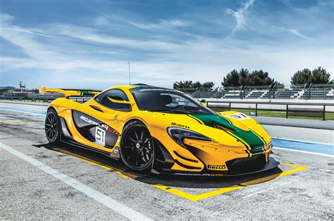 a blistering drive in the mclaren p1 gtr
