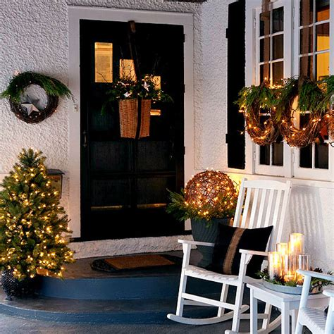 front door christmas decorations ideas 20 great christmas front door decorating ideas style