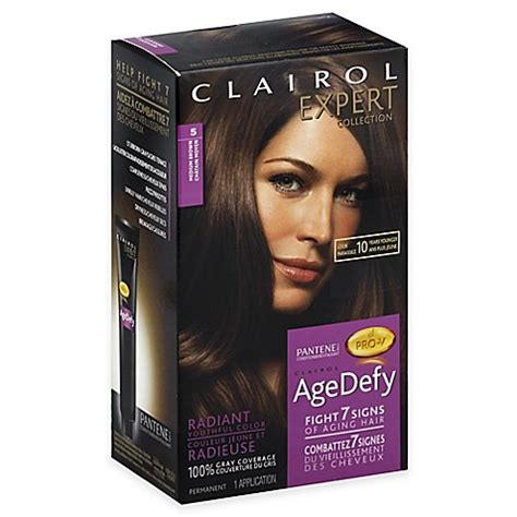age defy hair color clairol 174 expert collection age defy hair color in 5 medium