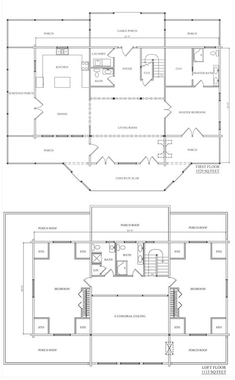 katahdin log home floor plans camden log home floor plan from katahdin cedar log homes