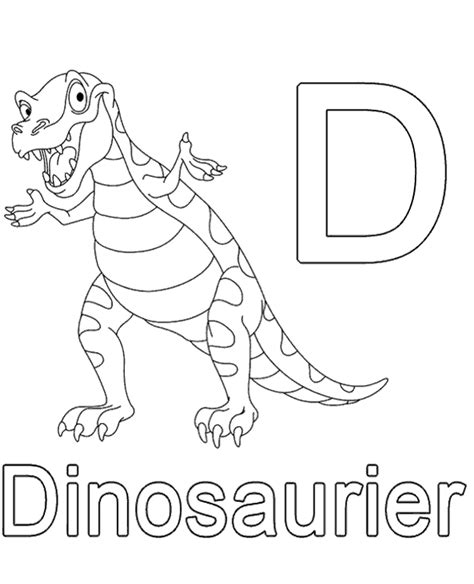 german alphabet coloring pages letter d to print or download for free