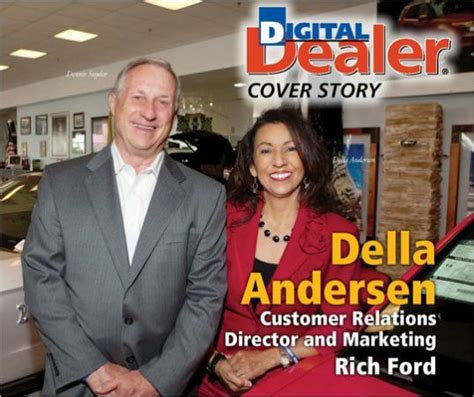 ford customer relations della andersen customer relations director rich ford
