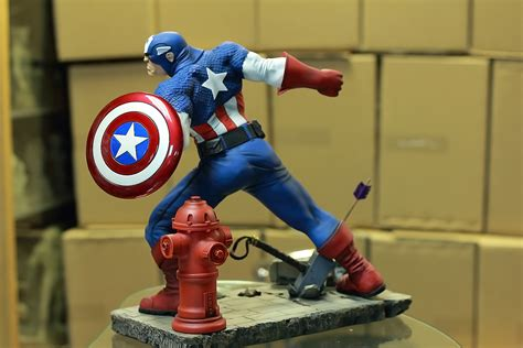 Captain America 02 captain america painted 02 by mufizal on deviantart