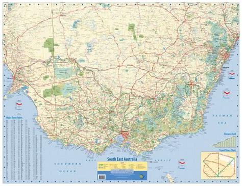 south eastern australia map south east australia wall map meridian maps