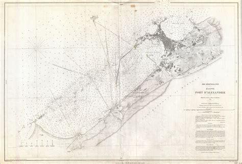 mer mediterranee egypte port d alexandrie geographicus