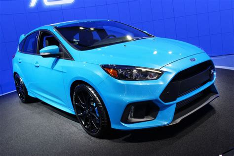 New Ford Focus Rs by 2016 Ford Focus Rs At The New York Auto Show