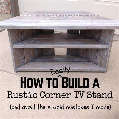make your own corner desk the 25 best tv stand corner ideas on corner