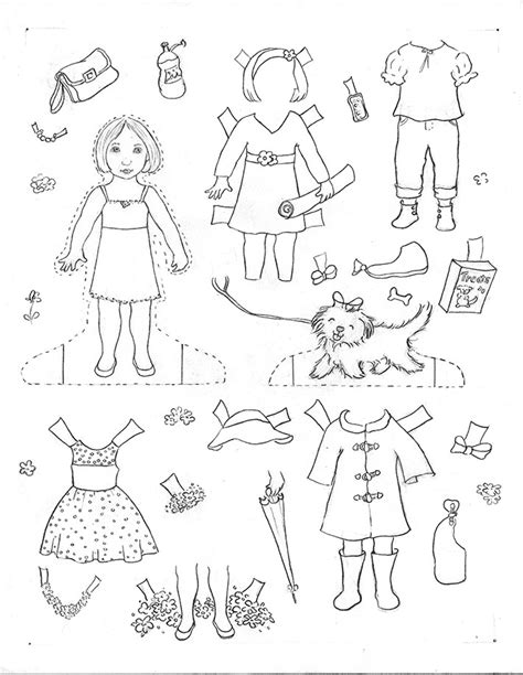 How To Make Doll Clothes With Paper - how to make paper dolls at home