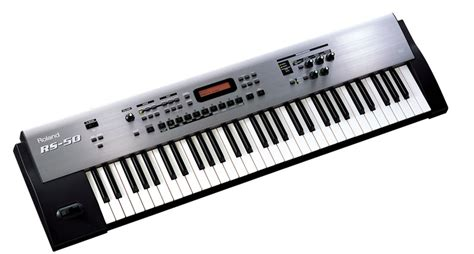 Keyboard Roland Rs 50 image gallery synthesizer instrument