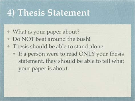 How To Make Thesis Statement For A Research Paper - how to write a thesis statement for a research paper on a