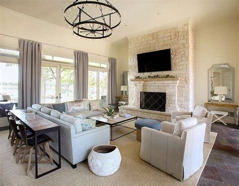 dining table behind sofa transitional living room b moore design more seating behind the couch way better than a sofa