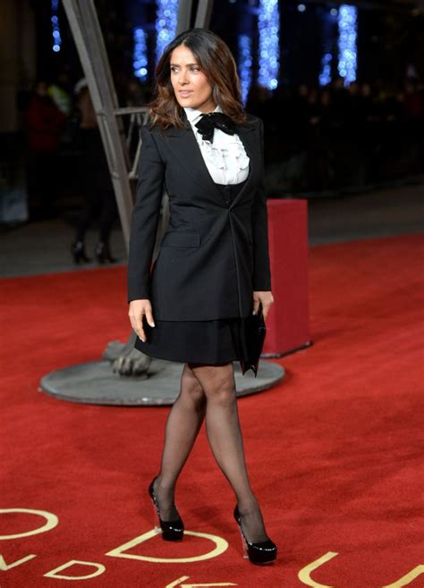 Salma Hayek When Bad Shoes Happen To Dresses by Salma Hayek At Exodus Gods And Premiere In