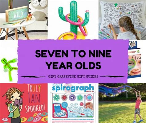 7 year old gift guide great gifts for seven to nine year olds gift grapevine gift guides